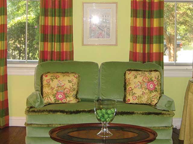 Sweet Pea's Custom Slipcovers and Window Treatments