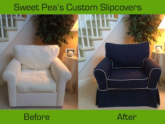Custom Slipcovers for well-loved furniture