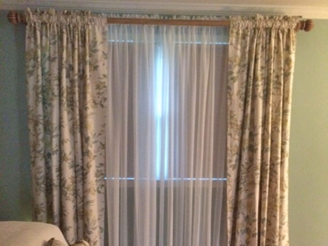 Sweet Sheers with Rod Pocket Drapes