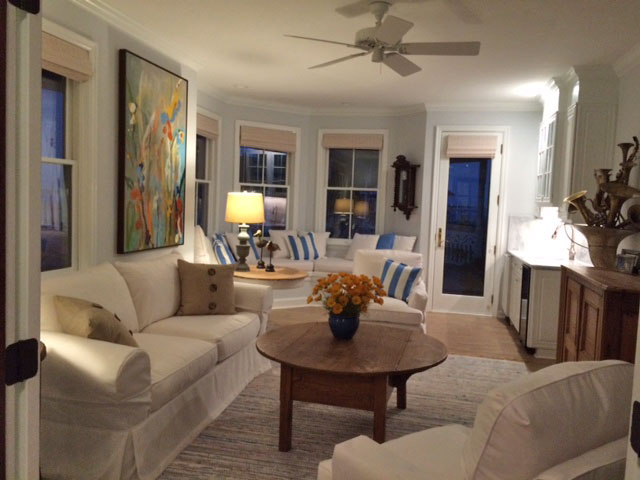 Bright and Airy Makeover with Slipcovers