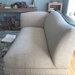 Curvy back sectional