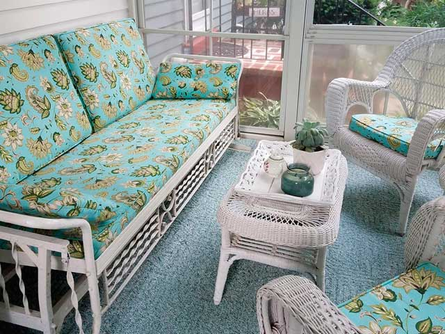 Porch Furniture Cushion Covers